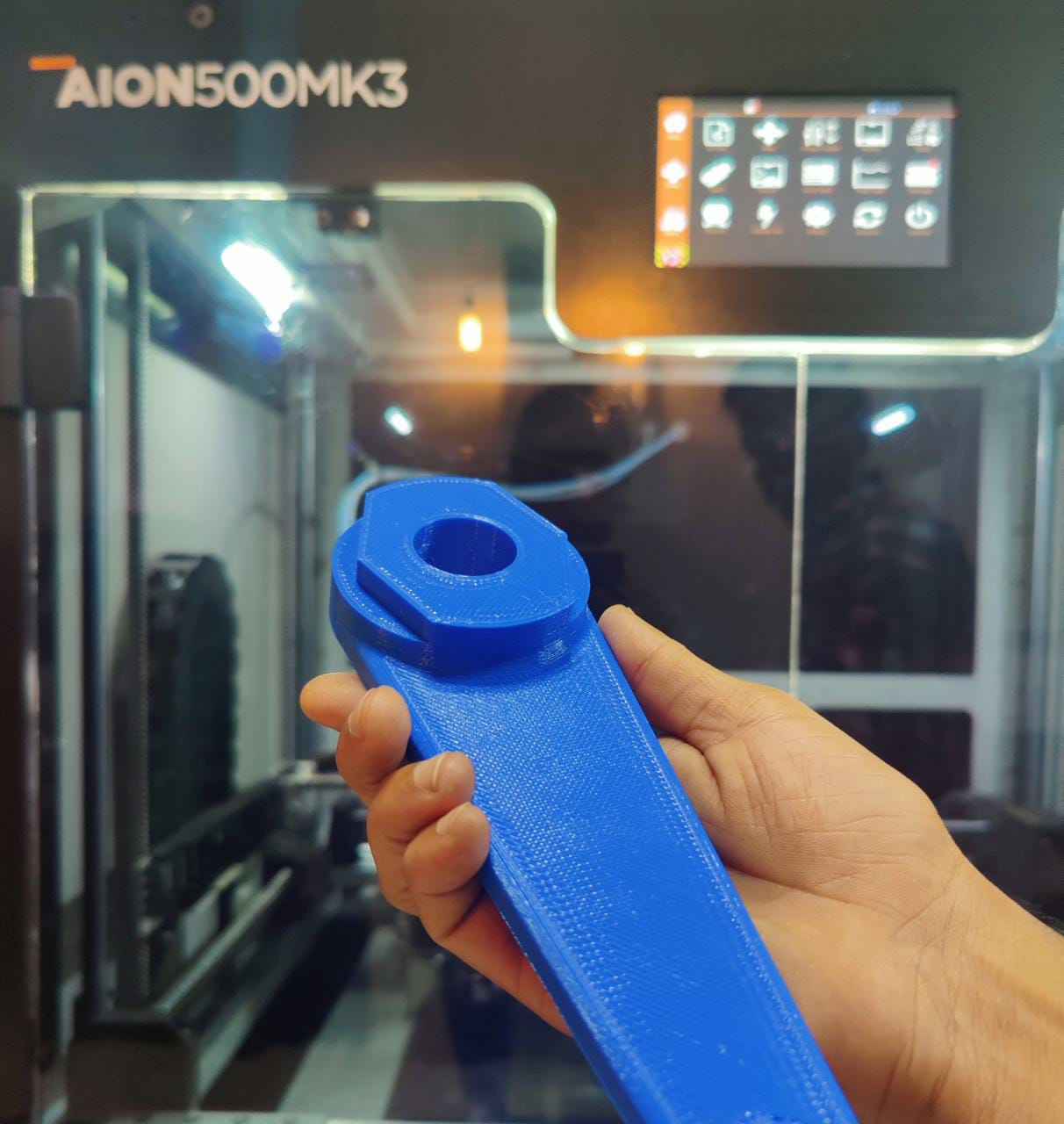 High-speed 3d printing with AFPM