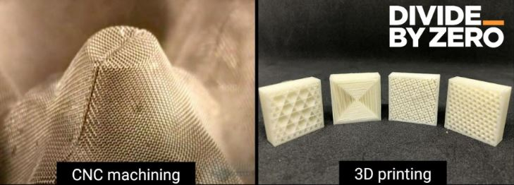 3D Printed Component Vs Pulp Mould Internal Structure Similarities