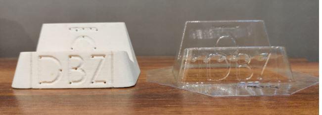 3D Printed Packaging - Vacuum Forming