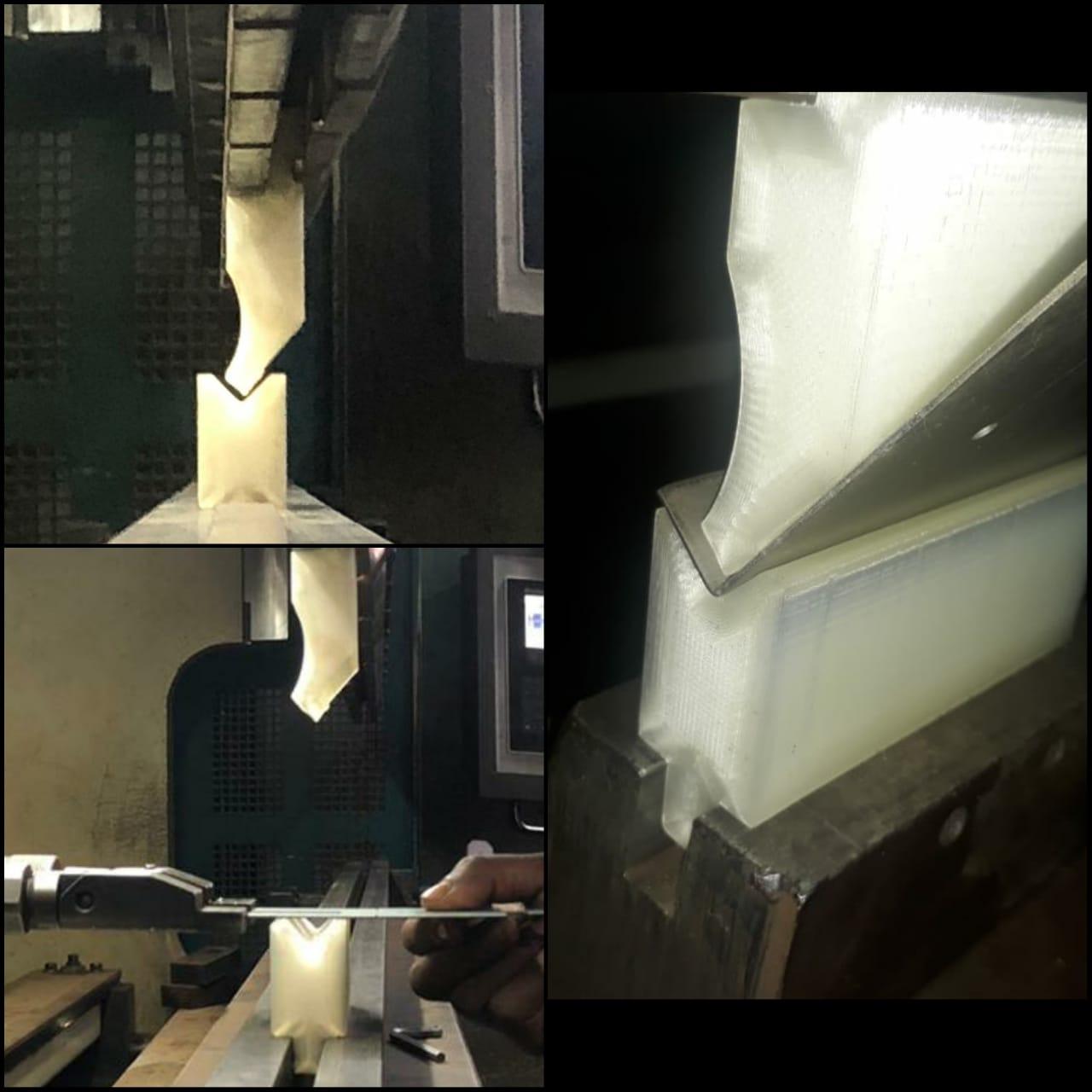 3D printed press brake tool