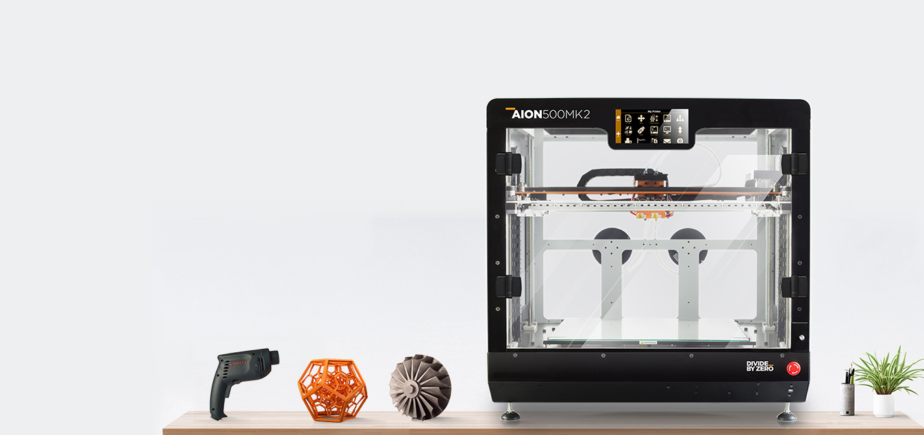 Leading 3D printer manufacturers in India   Divide by Zero