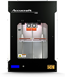 ACCUCRAFT i250D 3D Printer 2